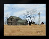 Forgotten Fields: Framed Art Print by Jacobs, Billy