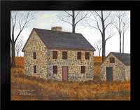 Pennsylvania Stone House: Framed Art Print by Jacobs, Billy