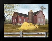 Farm Life: Framed Art Print by Jacobs, Billy