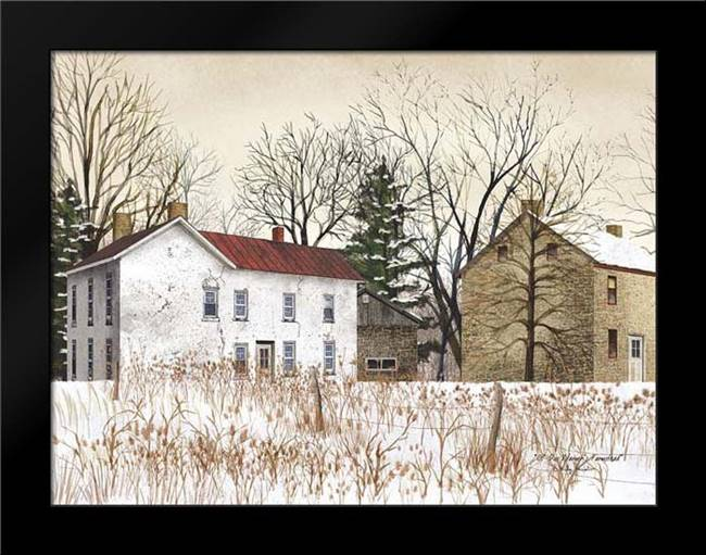 Doc Warners Farmstead: Framed Art Print by Jacobs, Billy