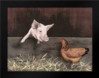 Bacon and Eggs: Framed Art Print by Jacobs, Billy