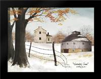 November Snow: Framed Art Print by Jacobs, Billy