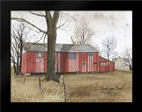 Americana Barn: Framed Art Print by Jacobs, Billy