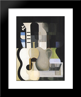 Accords:  Modern Black Framed Art Print by Amedee Ozenfant