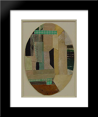 Number 22:  Modern Black Framed Art Print by Anne Ryan
