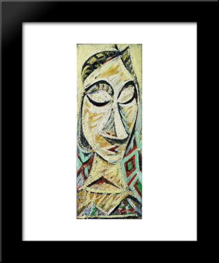 Bound In Sleep : Custom Black Wood Framed Art Print by Arshile Gorky
