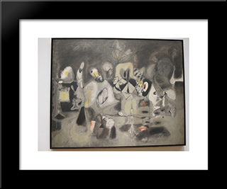 Moma:  Modern Black Framed Art Print by Arshile Gorky