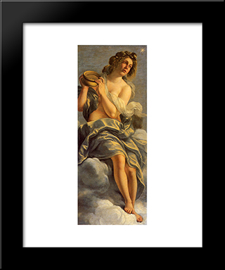 Allegoria Dell'Inclinazione:  Modern Black Framed Art Print by Artemisia Gentileschi