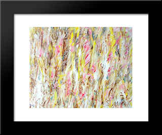 Untitled Landscape, Bellport (No.732):  Modern Black Framed Art Print by Arthur Pinajian