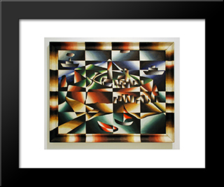 Heligoland:  Modern Black Framed Art Print by Arthur Segal