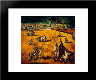 Balcony To The Sea:  Modern Black Framed Art Print by Arturo Souto