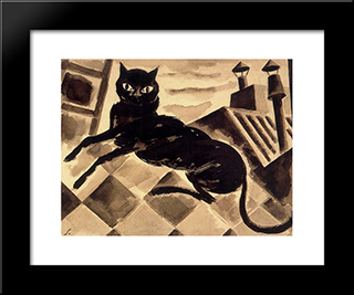 How Will Be!:  Modern Black Framed Art Print by Arturo Souto