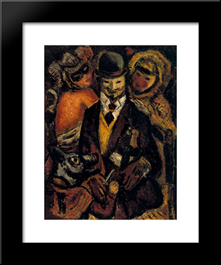 I Go:  Modern Black Framed Art Print by Arturo Souto
