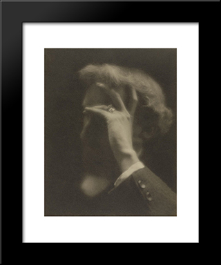 F. Holland Day: Modern Black Framed Art Print by Clarence White