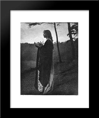 The Bubble: Modern Black Framed Art Print by Clarence White