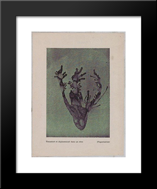 Transfer & Placement Into A Dream (Vaporization): Modern Black Framed Art Print by Dolfi Trost