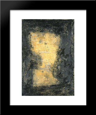 Bolo: Modern Black Framed Art Print by Emil Schumacher