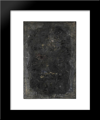 Jarbas: Modern Black Framed Art Print by Emil Schumacher