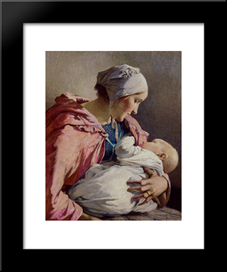 Sweet Dreams: Modern Black Framed Art Print by Firmin Baes