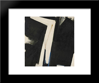 Aux Murs: Modern Black Framed Art Print by Frederic Matys Thursz
