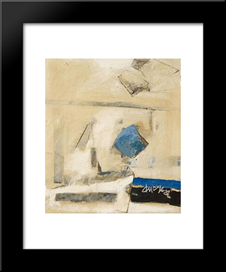 Fenetre: Modern Black Framed Art Print by Frederic Matys Thursz