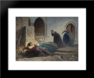 Completed Scores: Modern Black Framed Art Print by Fyodor Bronnikov