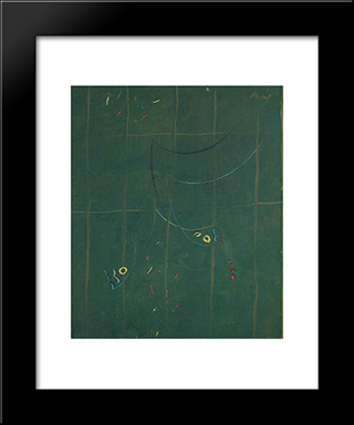 Composition: Modern Black Framed Art Print by Georges Papazoff