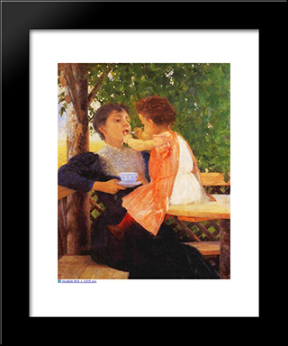Reversal Of Roles: Modern Black Framed Art Print by Georgios Jakobides