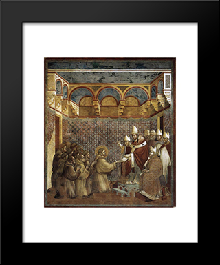 Confirmation Of The Rule: Modern Black Framed Art Print by Giotto
