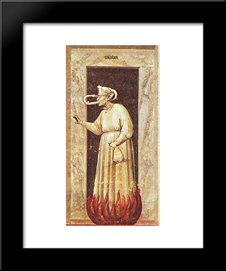 Envy: Modern Black Framed Art Print by Giotto