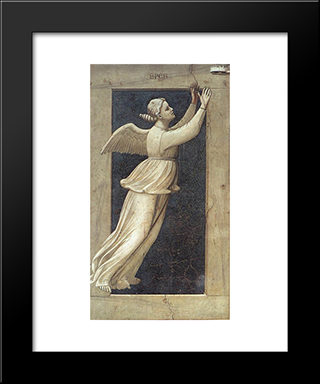 Hope: Modern Black Framed Art Print by Giotto