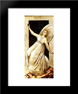 Inconstancy: Modern Black Framed Art Print by Giotto