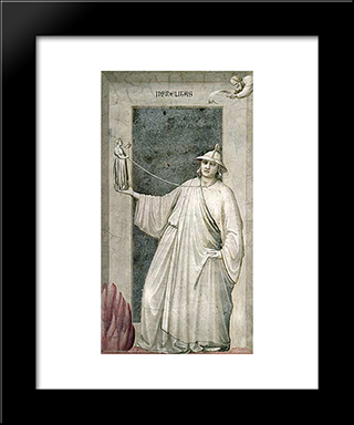 Infidelity: Modern Black Framed Art Print by Giotto