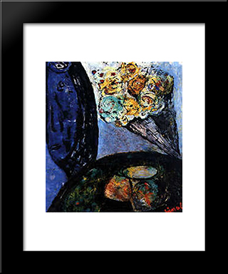 Peggy'S Bunch: Modern Black Framed Art Print by Giuseppe Pinot Gallizio