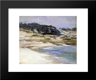 17 Mile Drive: Modern Black Framed Art Print by Guy Rose