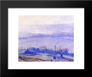 August Noon: Modern Black Framed Art Print by Guy Rose