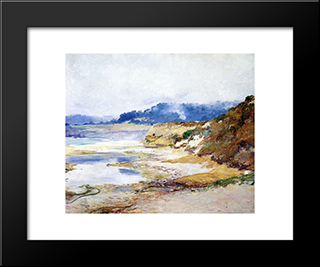Grey Afternoon: Modern Black Framed Art Print by Guy Rose