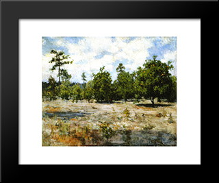 Florida: Modern Black Framed Art Print by Henry Ossawa Tanner