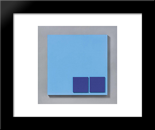 28856: Modern Black Framed Art Print by Henryk Stazewski