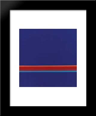 47 - 1972: Modern Black Framed Art Print by Henryk Stazewski