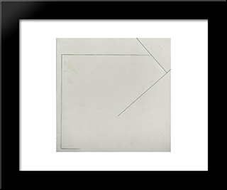 Nr. 123: Modern Black Framed Art Print by Henryk Stazewski