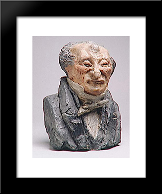 Alexander Simon Pataille, Mp: Modern Black Framed Art Print by Honore Daumier