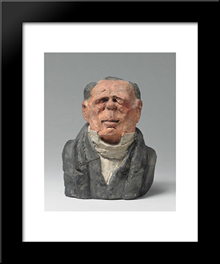Benjamin Delessert, Industrial And Mp: Modern Black Framed Art Print by Honore Daumier