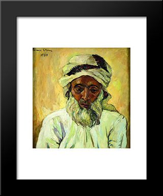 Arab: Modern Black Framed Art Print by Irma Stern