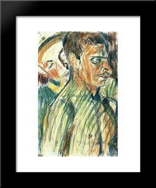 In A Surgery: Modern Black Framed Art Print by Istvan Nagy