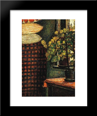 Szekely Room: Modern Black Framed Art Print by Istvan Nagy