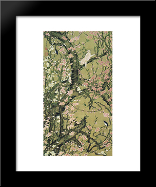 Touka Shoukinzu: Modern Black Framed Art Print by Ito Jakuchu