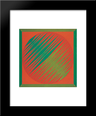 Serie Amazonica No 2: Modern Black Framed Art Print by Ivan Serpa