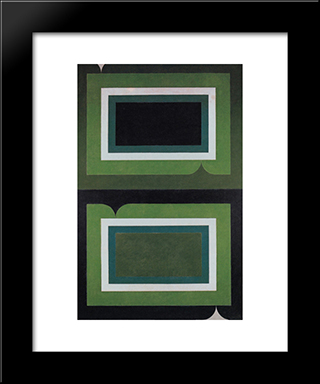 Serie Mangueira: Modern Black Framed Art Print by Ivan Serpa