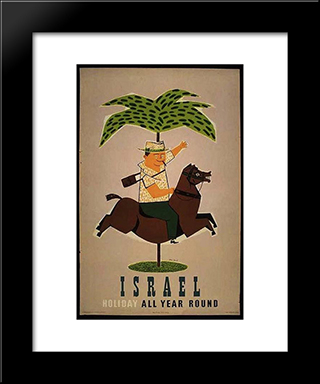 Holiday All Year Round: Modern Black Framed Art Print by Jean David